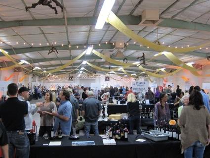 Saturday Crowd Paso Robles Garagiste Festival 2014: But Not Pinot Noir