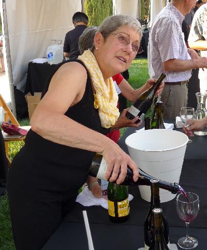 Susan Sokol Blosser Art and Wine at Stanford
