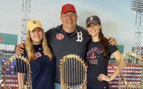 Bob, Kelly, and Sarah Smerling Cabana Winery at Family Winemakers 2017
