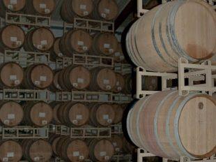 Wine Barrels Close Up
