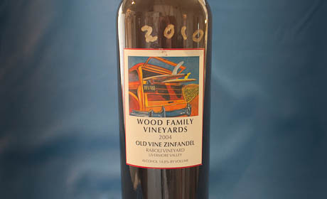 Wood Family Vineyards Zinfandel 2004