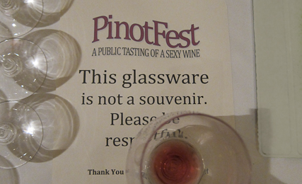PinotFest 2011 Welcome