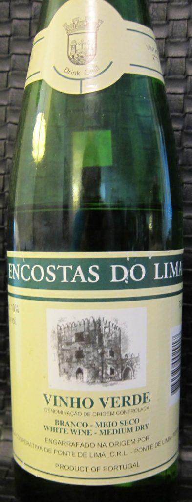 Encostas do Lima Vinho Verde bottle