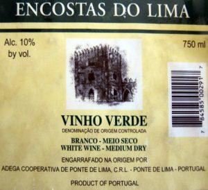 Encostas do Lima Vinho Verde