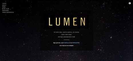 Lumen Home Page