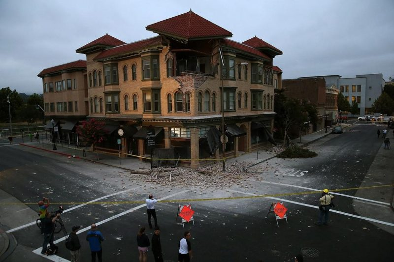 Napa Quake Downtown