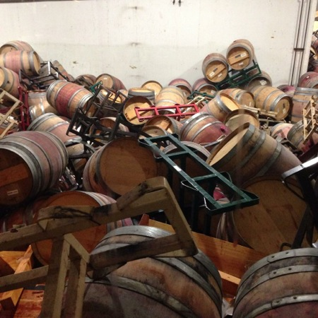Napa Quake Matthiasson Barrel Jumble
