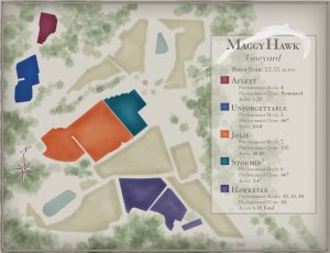Maggy Hawk Vineyard Map Maggy Hawk Offers Money, Story, Marketing and Great Wine
