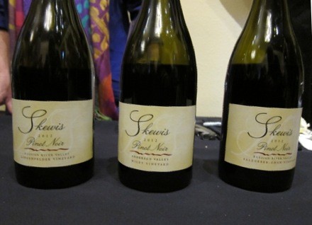 Skewis bottles Pinotfest 2014: the Best of the Rest