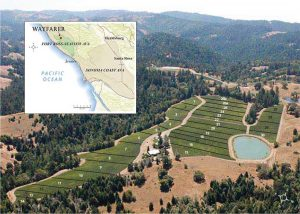 Wayfarer Vineyard Map
