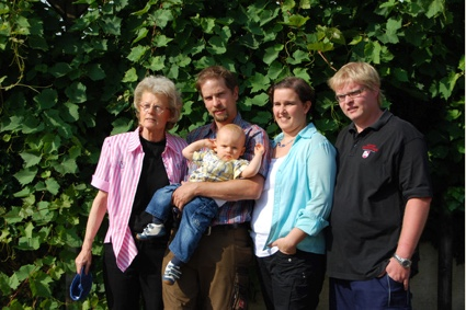 Frank Heyden And Family Artisan Goes German