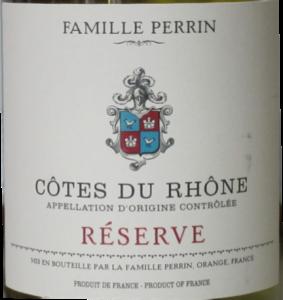Famille Perrin Cotes Du Rhone Blanc