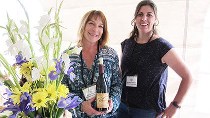 Andrea (L) and Genevieve Ardzrooni Anderson Valley Pinot Noir Festival