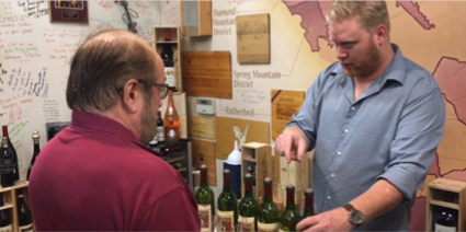 HeitzTasting and Talking Cellars Vertical at Artisan
