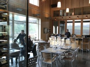 Lynmar Tasting Room In The RainFeatured