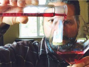 Winemaker Greg Adams in action featured