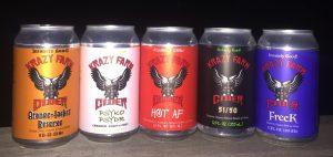 Krazy Farm Cider lineup