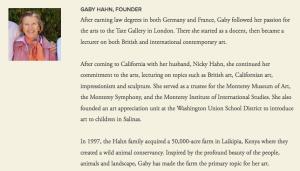 Gaby Hahn Hahn Visits Artisan
