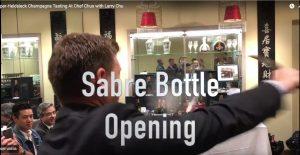 Sabre Bottle Opening