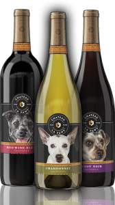 Chateau La Paws bottles