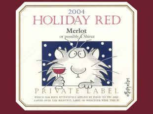 Sandy Boynton wine label something every wine lover can use