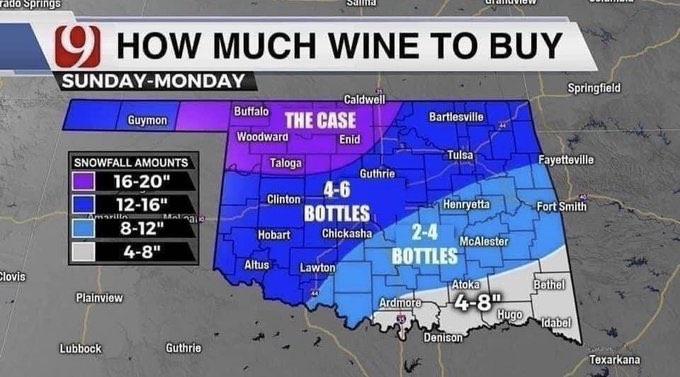 Oklahoma wine buying guide